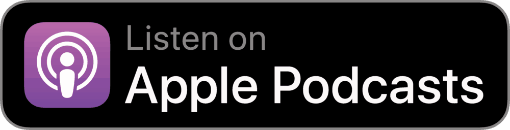 subscribe to apple podcast button